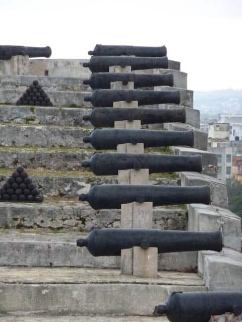 Cuba Havanna Castillo de los Tres Reyes del Morro  43_1