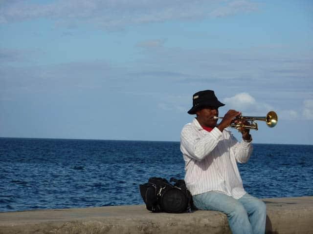 Straßenmusiker in Havanna