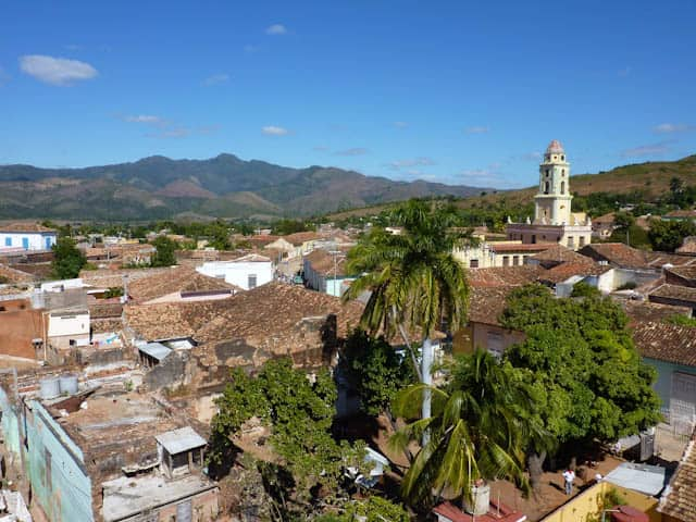 Blick auf die Stadt Trinidad