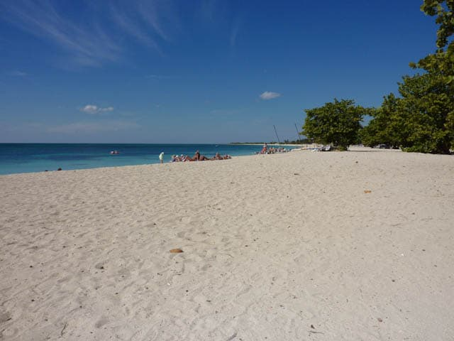 Sandstrand in Trinidad
