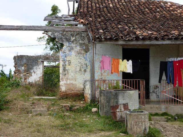 Wohnviertel in Cuba-Valle-de-los-Ingenios