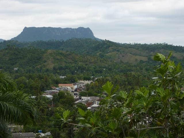 Blick auf Baracoa