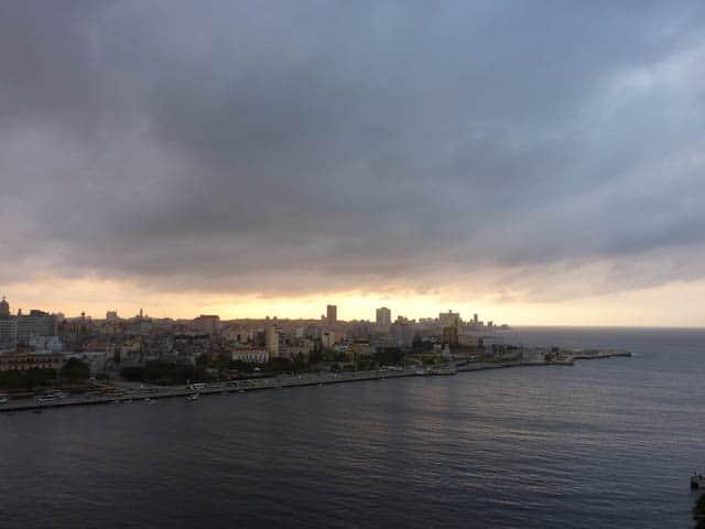 Die Skyline von Havanna