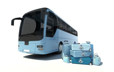 Mit dem Bus übers Land