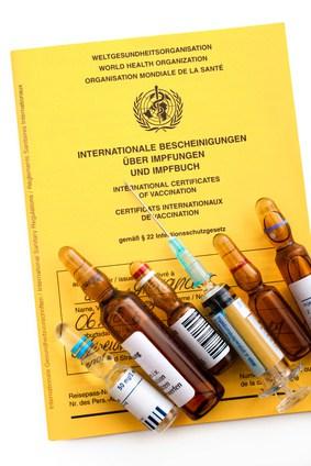 Unbedingt an die notwendigen Impfungen denken